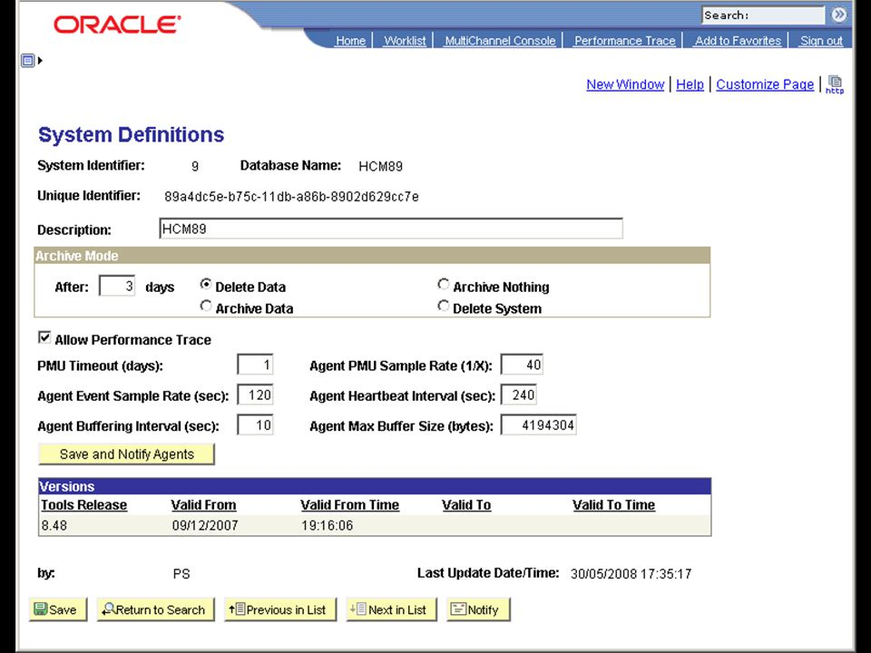 UKOUG2012 - Performance Tuning for PeopleSoft Administrators