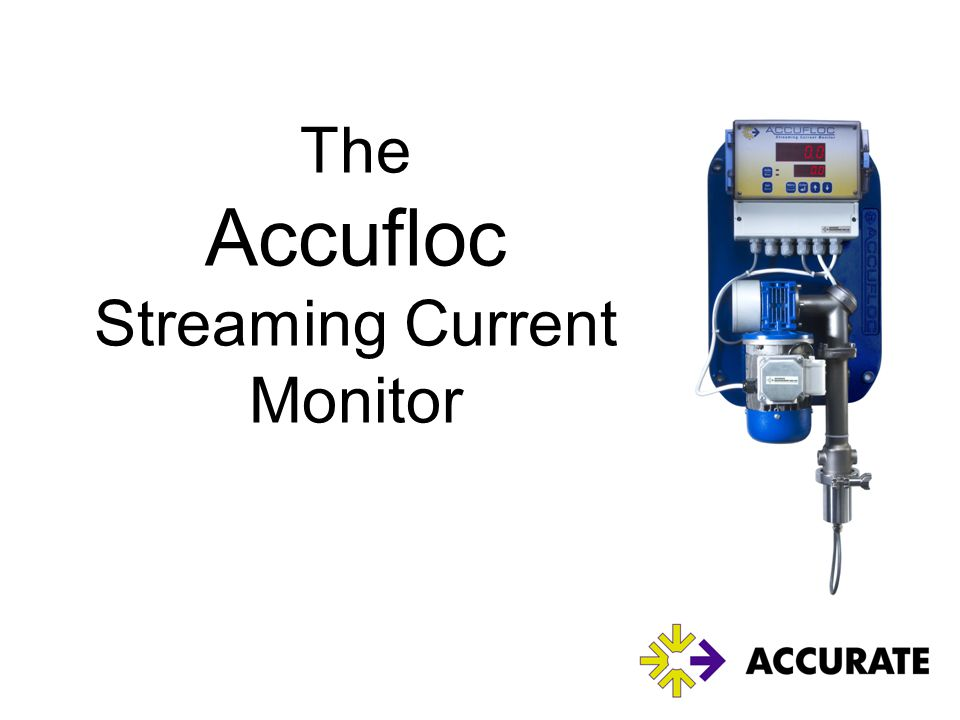 The Accufloc Streaming Current Monitor