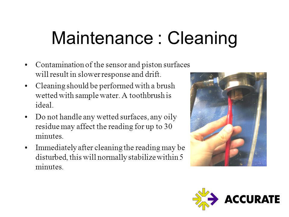 Maintenance : Cleaning