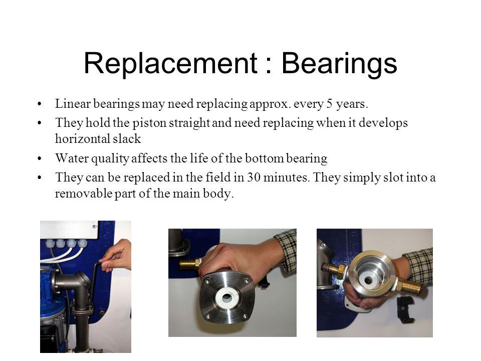 Replacement : Bearings