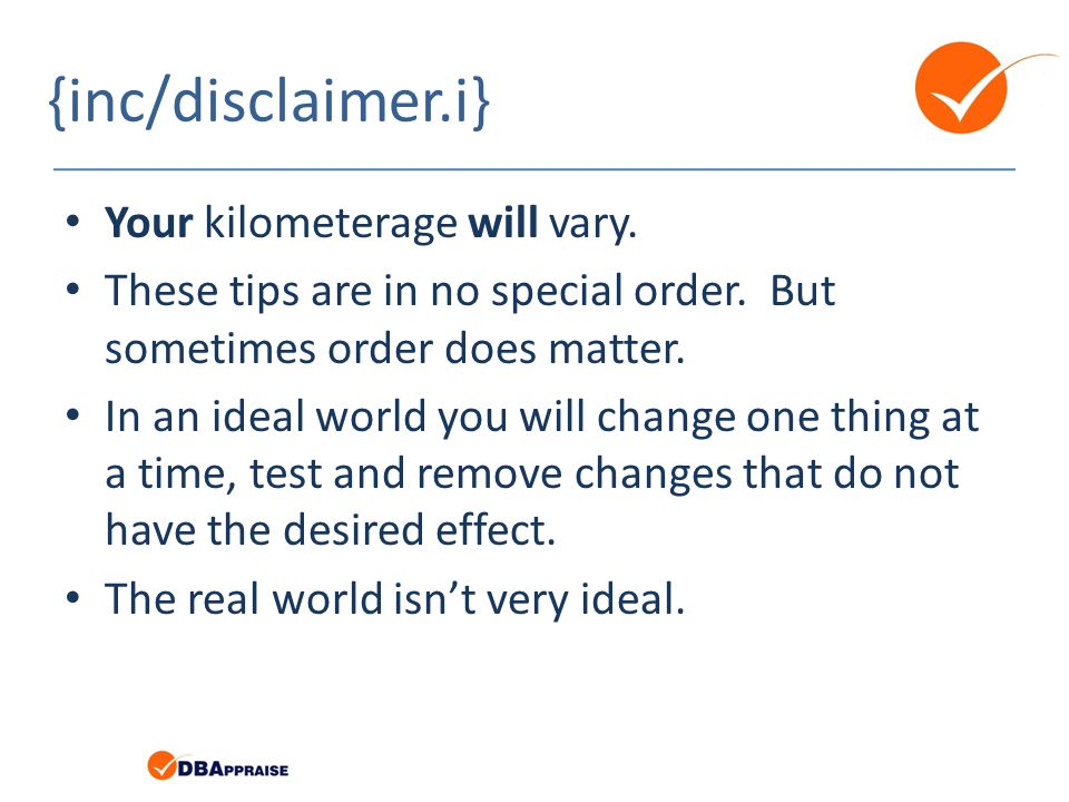 {inc/disclaimer.i} Your kilometerage will vary.