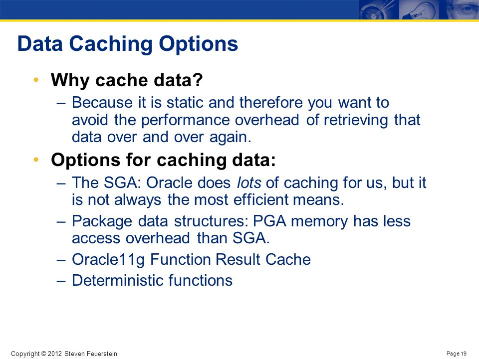 Packaged collection caching