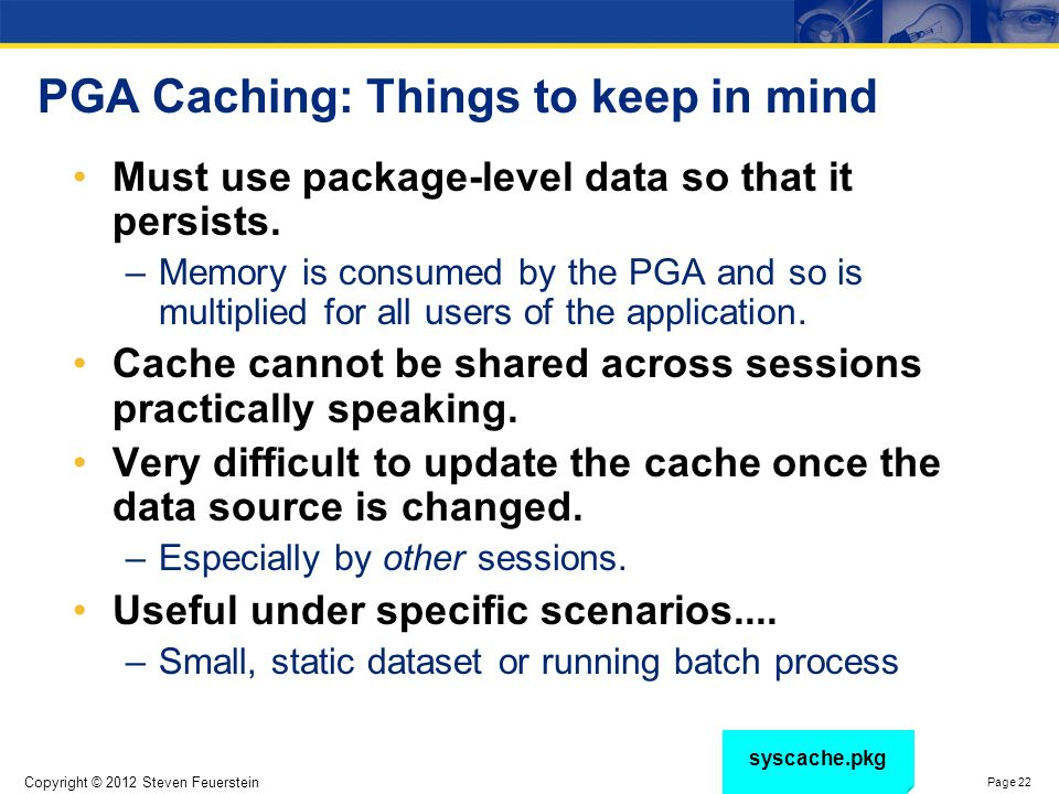 The Oracle 11g Function Result Cache