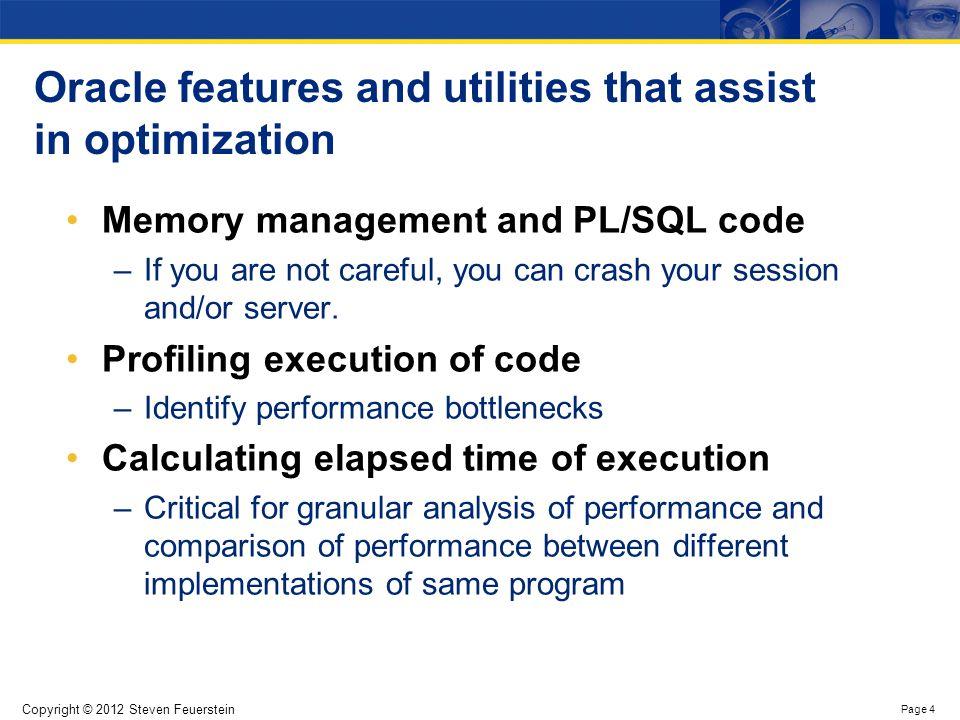 PL/SQL Runtime Memory Architecture