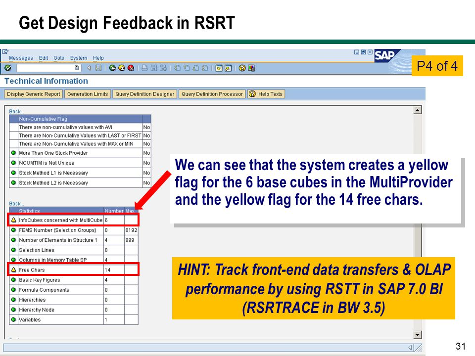 Get Design Feedback in RSRT