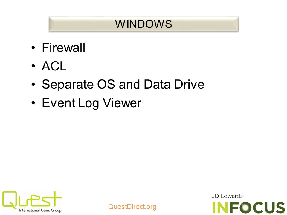 Separate OS and Data Drive Event Log Viewer