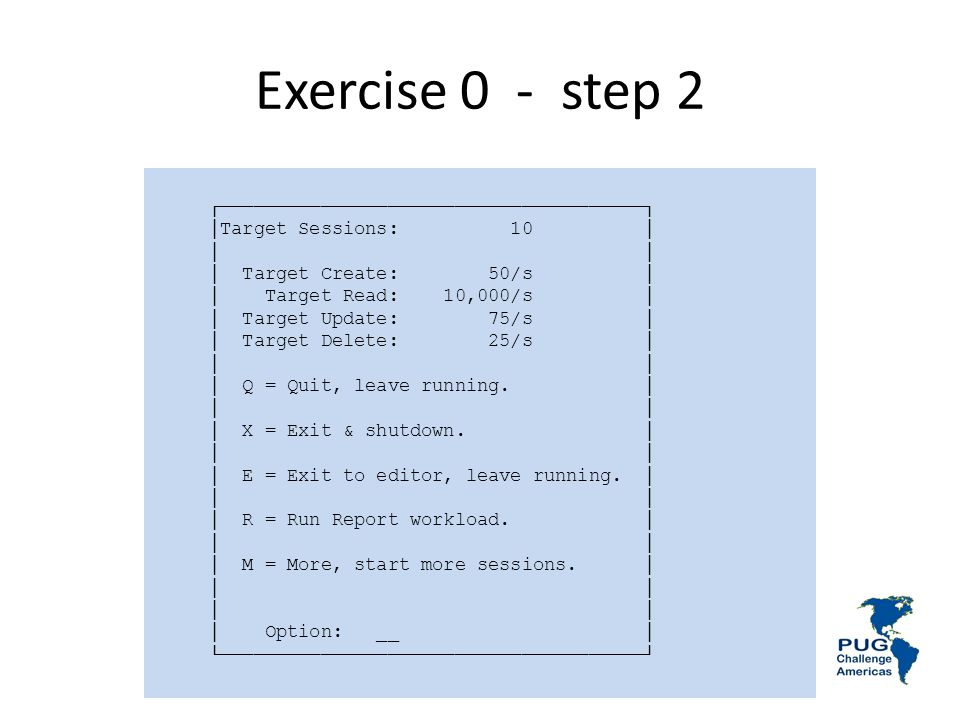 Exercise 0 - step 2 ┌──────────────────────────────────────┐