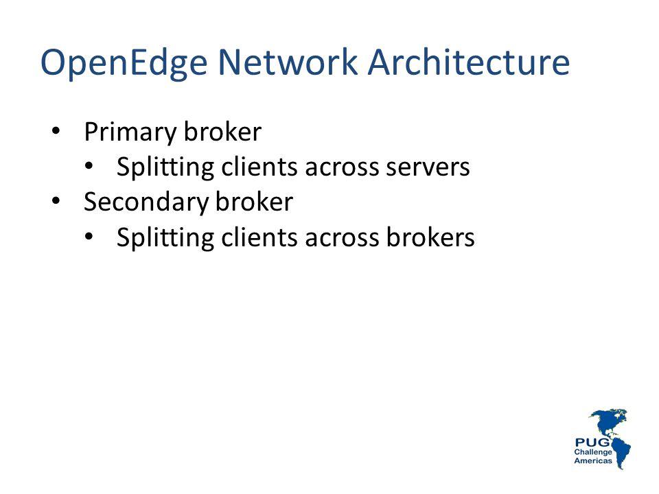 OpenEdge Network Architecture
