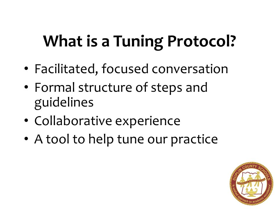 What is a Tuning Protocol