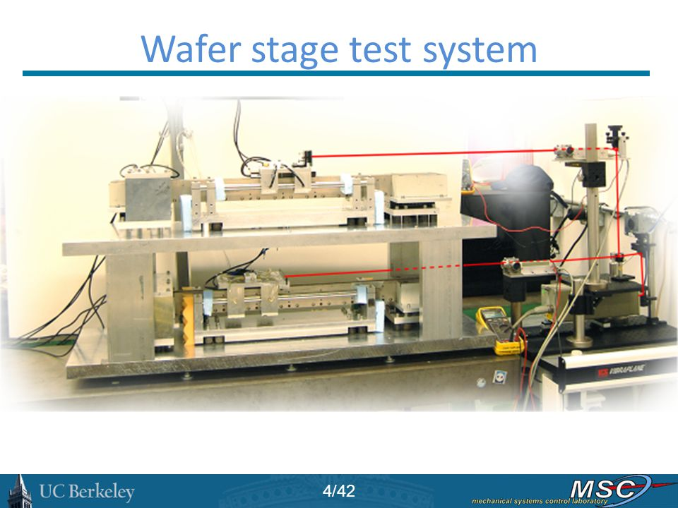 Wafer stage test system