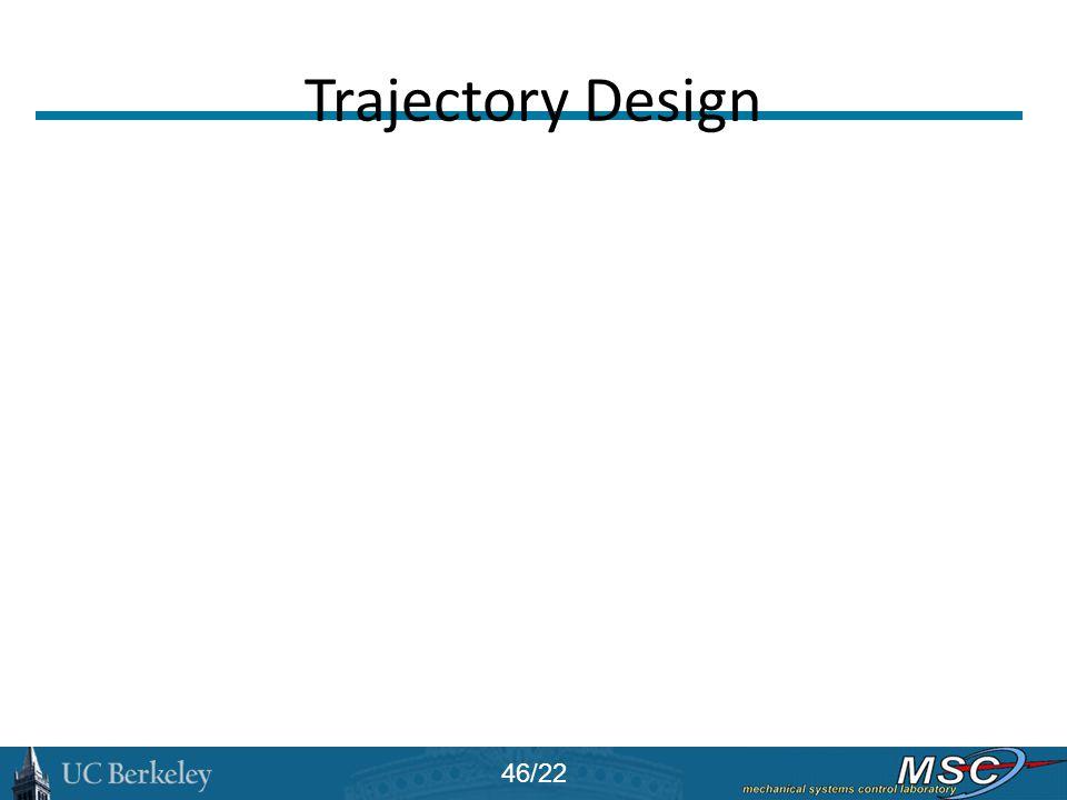 Trajectory Design 46/22
