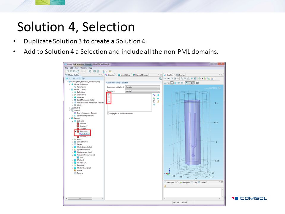 Solution 4, Selection Duplicate Solution 3 to create a Solution 4.