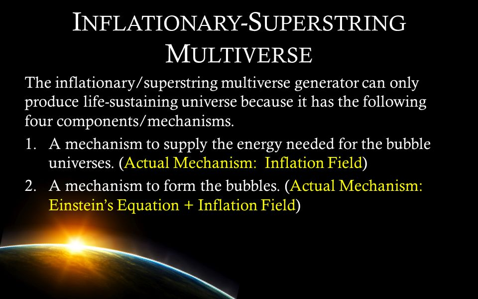 Inflationary-Superstring Multiverse