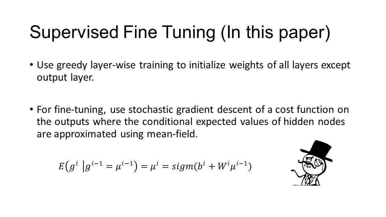 Supervised Fine Tuning (In this paper)