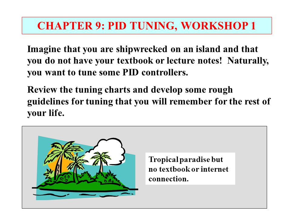 CHAPTER 9: PID TUNING, WORKSHOP 1