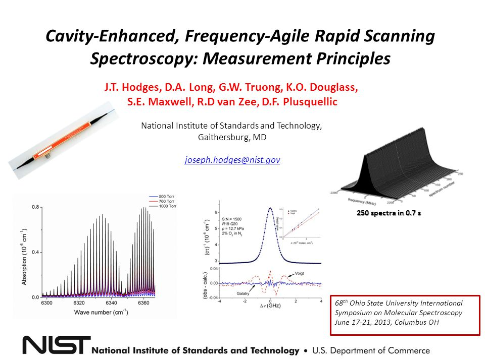 Cavity-Enhanced, Frequency-Agile Rapid Scanning Spectroscopy: Measurement Principles
