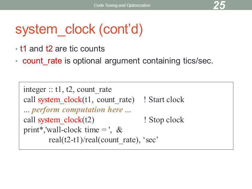 system_clock (cont'd)