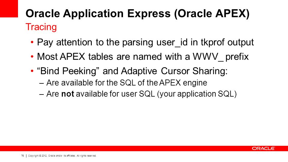 Oracle Application Express (Oracle APEX)