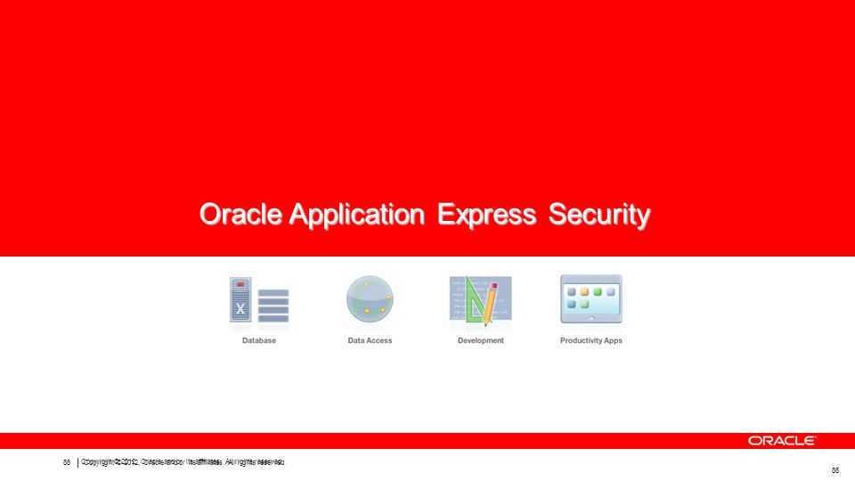 Oracle Application Express Security