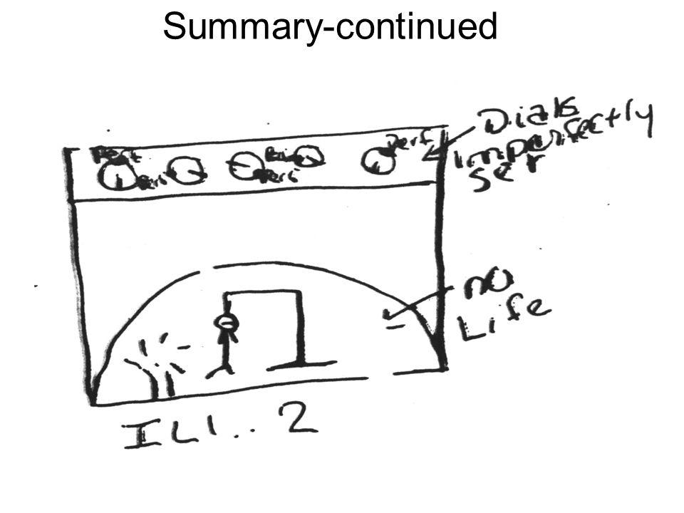 Summary-continued