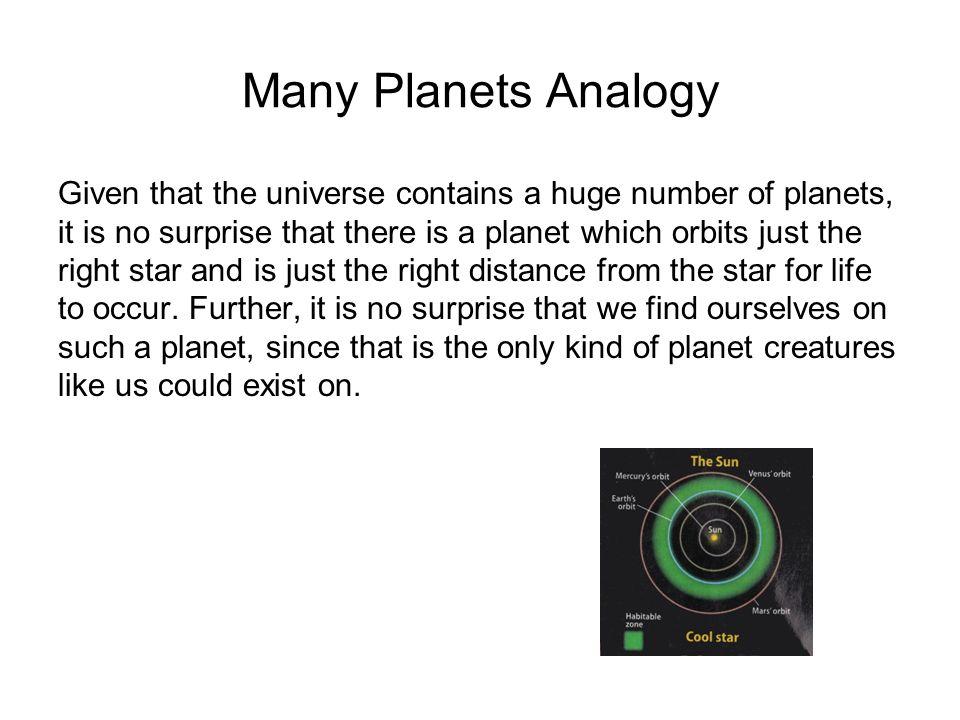 Many Planets Analogy