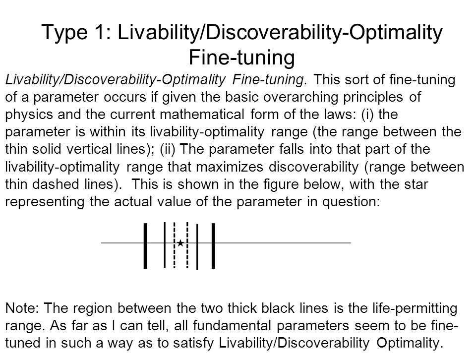 Type 1: Livability/Discoverability-Optimality Fine-tuning
