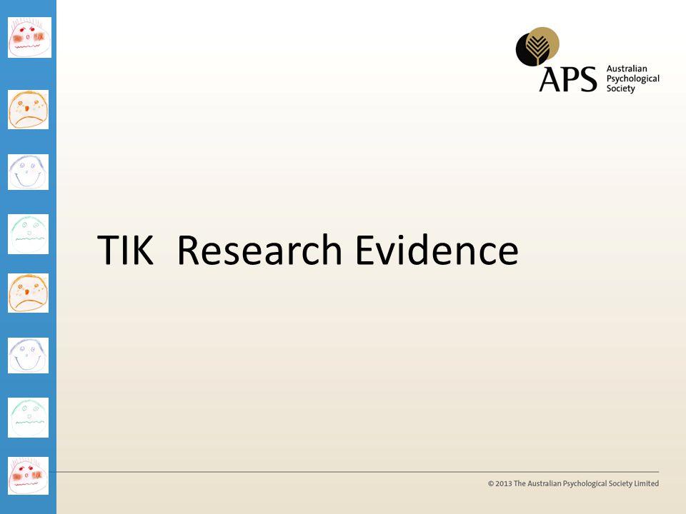 1/04/2017 TIK Research Evidence