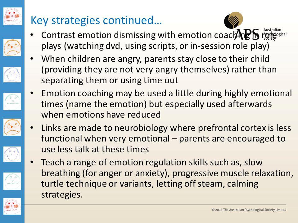 Key strategies continued…