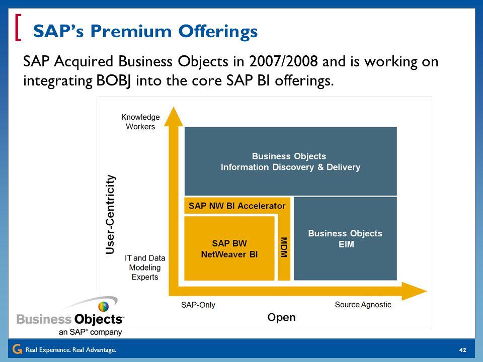 SAP's Premium Offerings