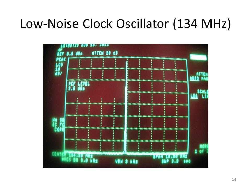 Low-Noise Clock Oscillator (134 MHz)