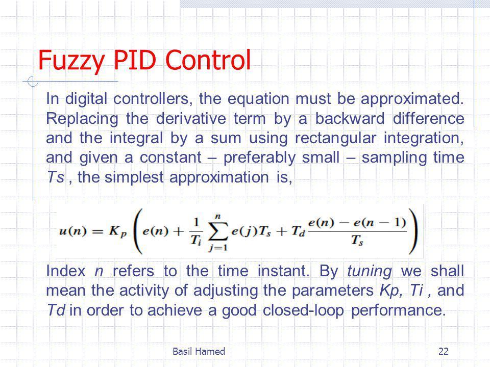Fuzzy PID Control