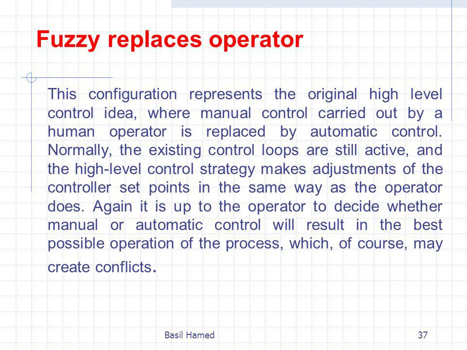Fuzzy replaces operator