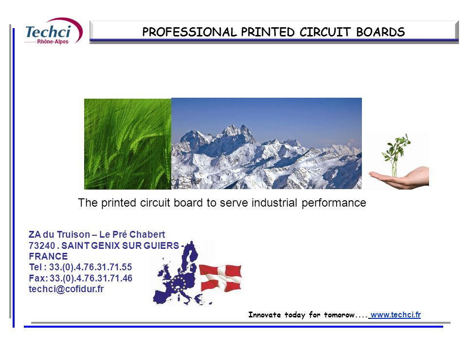 PROFESSIONAL PRINTED CIRCUIT BOARDS