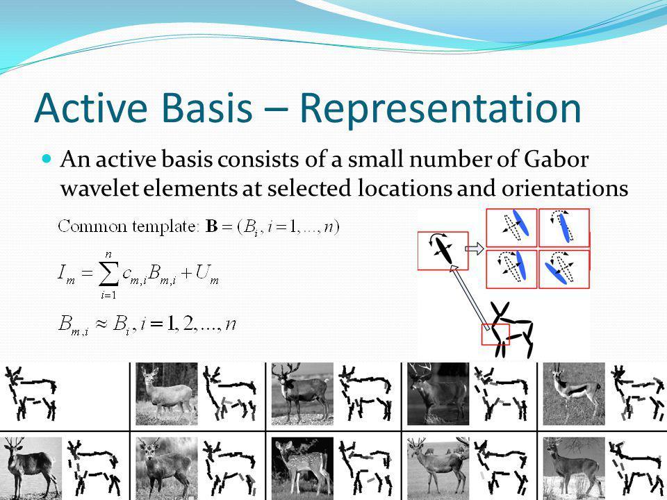 Active Basis – Representation