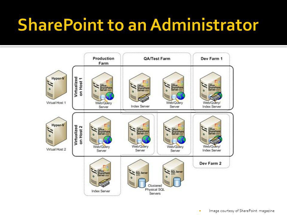 SharePoint to an Administrator