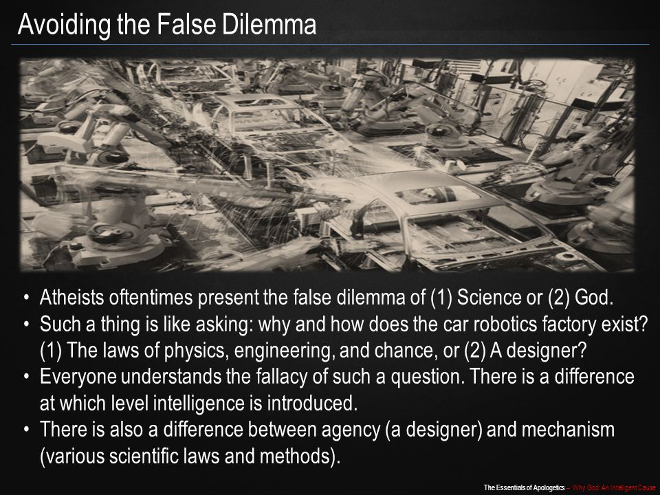 Avoiding the False Dilemma