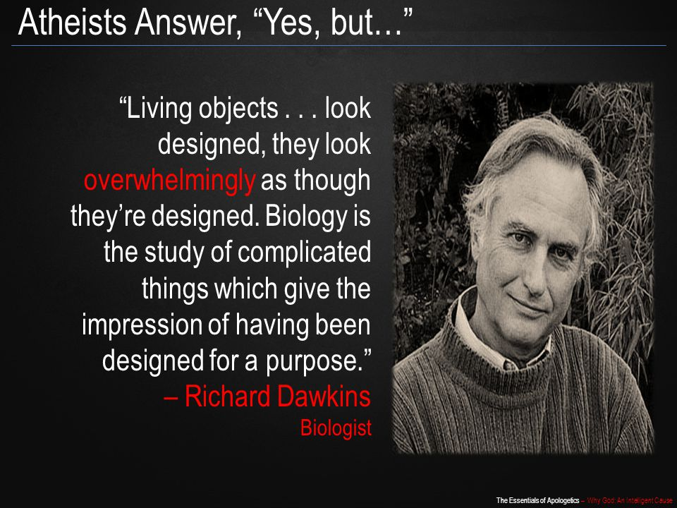Atheists Answer, Yes, but…