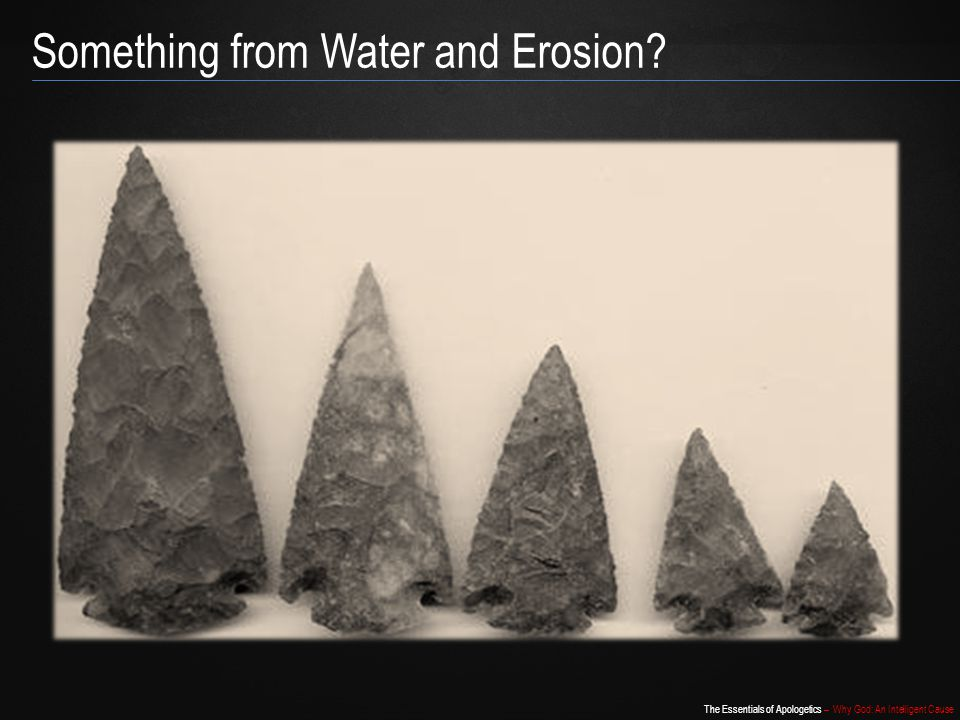Something from Water and Erosion
