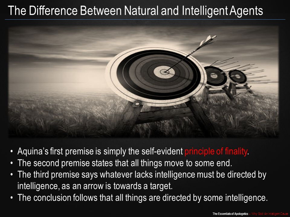 The Difference Between Natural and Intelligent Agents