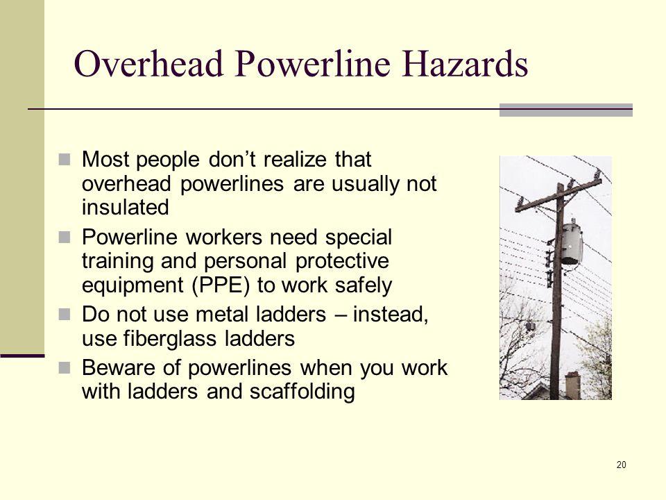Overhead Powerline Hazards