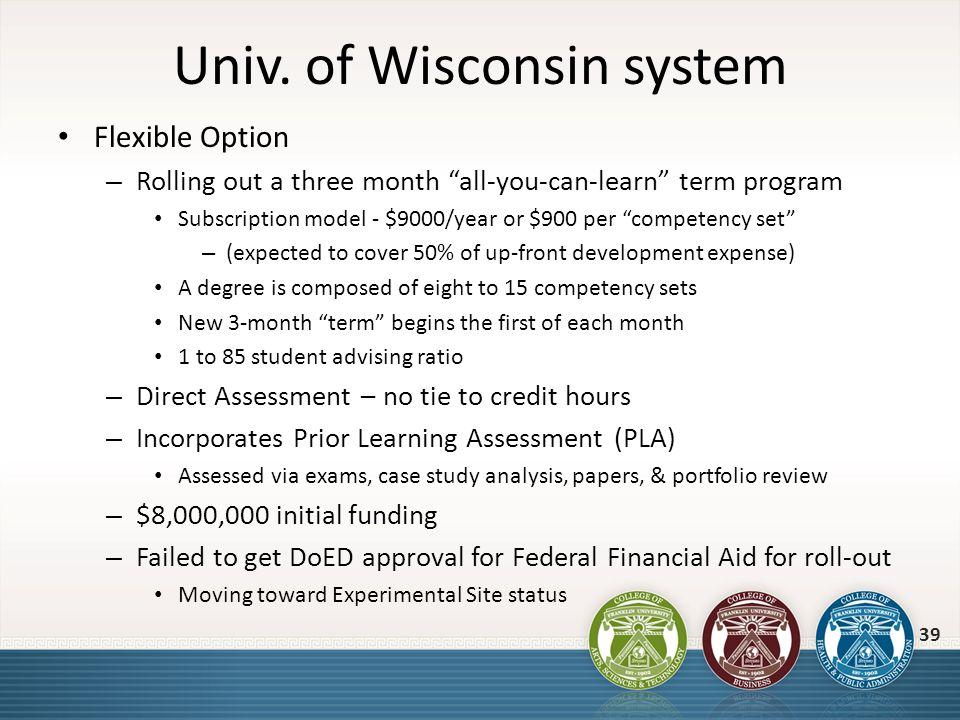 Univ. of Wisconsin system