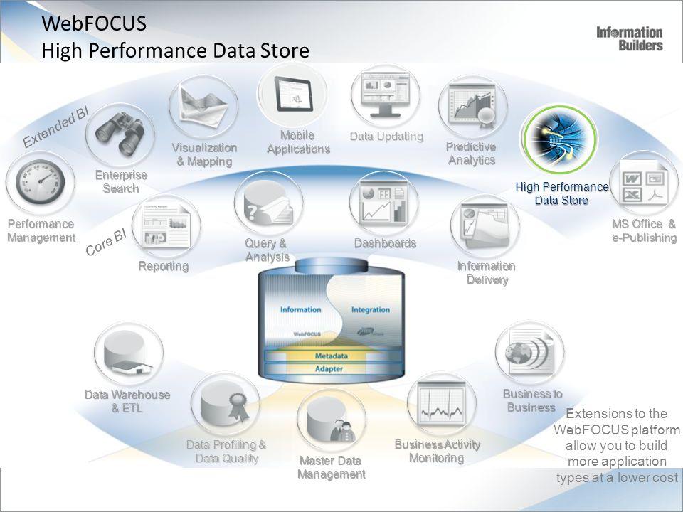 WebFOCUS High Performance Data Store