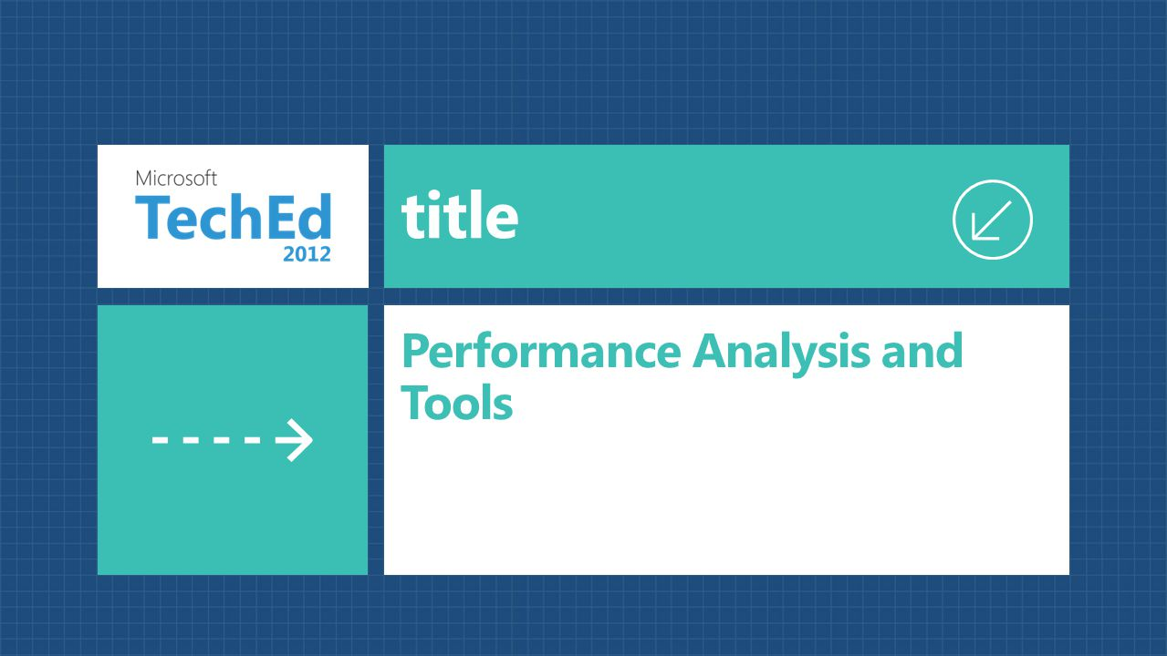Performance Analysis and Tools