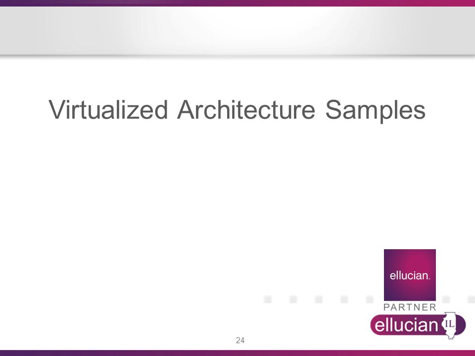 Virtualized Architecture Samples