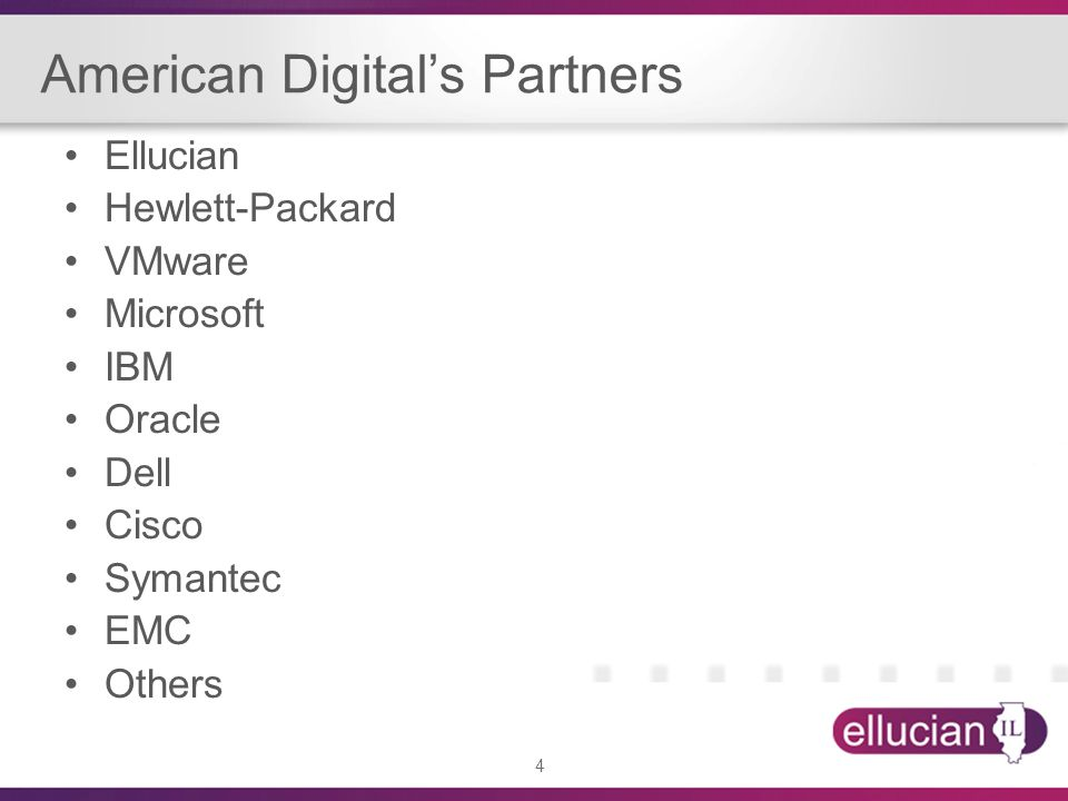 American Digital's Partners