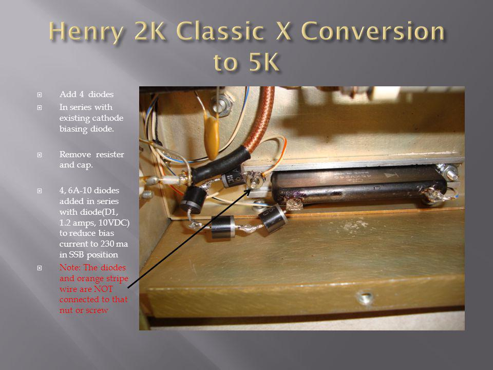 Henry 2K Classic X Conversion to 5K