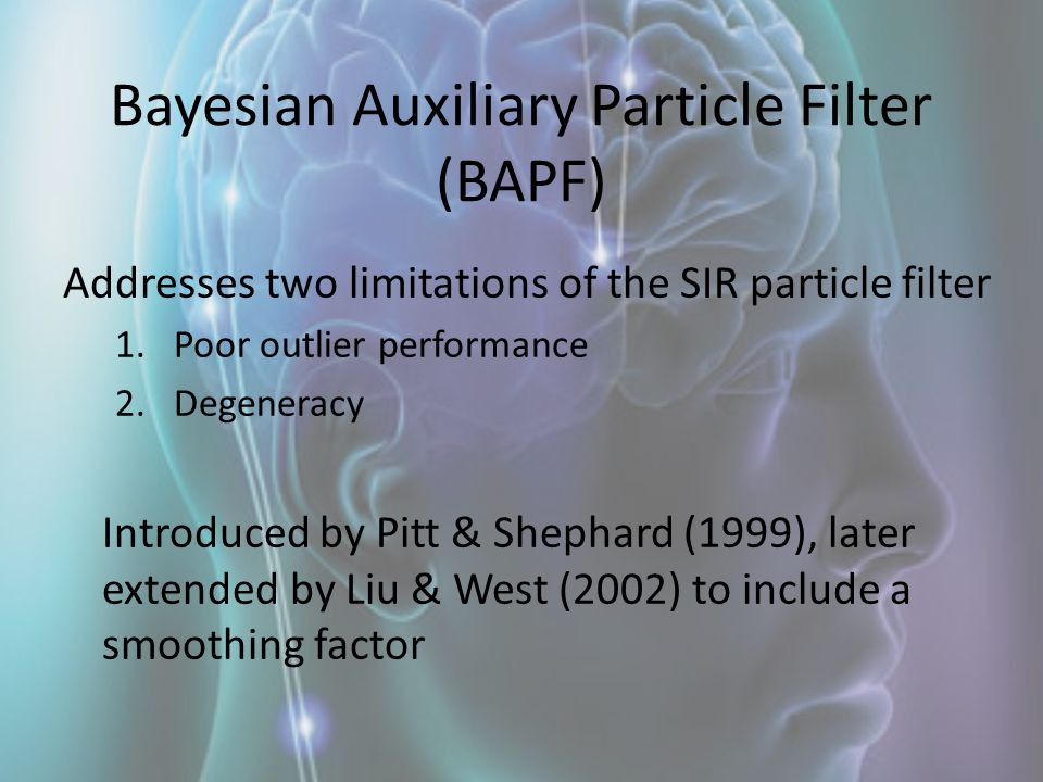 Bayesian Auxiliary Particle Filter (BAPF)