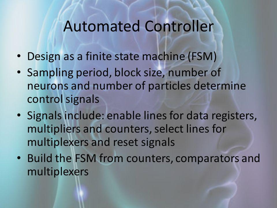 Automated Controller Design as a finite state machine (FSM)