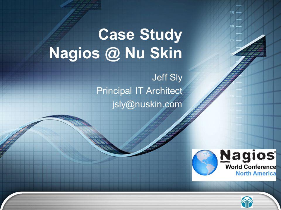 Case Study Nagios @ Nu Skin