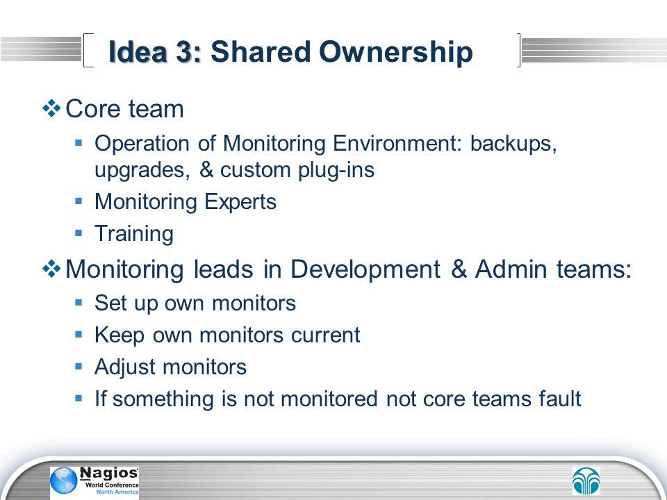 Idea 3: Shared Ownership